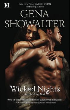 Wicked Nights (Angels of the Dark [Zacharel & Annabelle] by Gena Showalter Paranormal Romance Books, Romance Authors, Book Authors, Good Books, Books To Read, My Books, Amazing Books, Free Books, Love Book