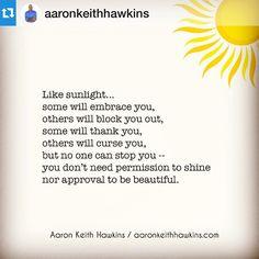 #Repost @aaronkeithhawkins・・・Words to wake up to...✌️☀️#singlemom #singlemomlife #divorcedmom