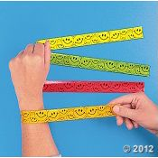 Slap bracelets! These are actually making a comeback!