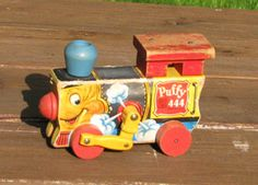 Puffy Fisher Price Pull Toy