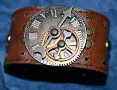 Very cool steampunk bracelet!