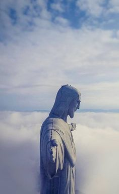 Christ the Redeemer - Statue of the Jesus Christ in Rio de Janeiro, Brazil - Symbol of Peace Brasil Travel, Christ The Redeemer Statue, Places To Travel, Places To Visit, God Is Amazing, Cecile, World Cities, Famous Places, Travel Tours