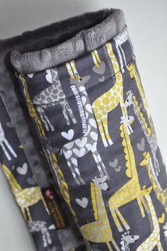 Gender Neutral Baby Blanket X LARGE Snuggle Size by dezignzbyliz
