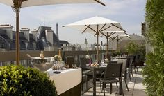 The W Bar Terrace - Paris