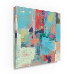 Silvia Vassileva 'Bright Reflections Crop' Canvas Art
