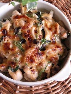 「鶏肉とほうれん草のマヨ味噌焼き。」簡単に出来ます!【楽天レシピ】