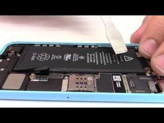 Tuto : Changer batterie iPhone 5C - YouTube