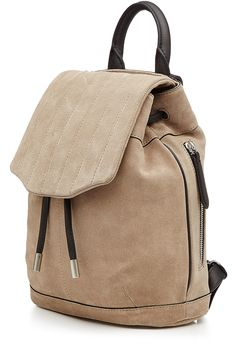 Pilot Suede Backpack