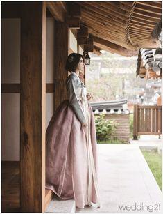 [한복] 가을의 문턱에서 만난 여인의 아름다움 - 웨프뉴스 with 강원도민일보