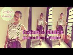 44d2bcc28d Como costurar e modelar roupas - blusa simples Alana Santos Blogger