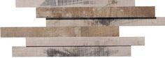 #OldWood #GreyOak #3D #Boards #Mosaic from #MidAmericaTile   #InnovativeLooks #WoodLooks