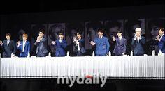 「SUPER JUNIOR」舉行記者會,此次新專輯將以9人形式展開宣傳活動。