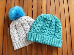 Häkelanleitung: Mütze für einen warmen Kopf, Accessoire / diy knitting instruction: pretty cap by Häkelteufel's Küche via DaWanda.com