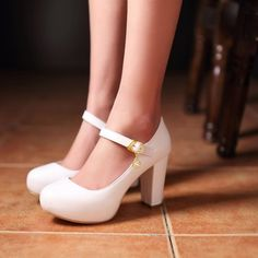 32.99$  Buy now - https://alitems.com/g/1e8d114494b01f4c715516525dc3e8/?i=5&ulp=https%3A%2F%2Fwww.aliexpress.com%2Fitem%2FSweet-Elegant-Mary-Janes-Womens-Block-High-Heel-Platform-Pumps-Lolita-Ankle-Strap-Shoes-New-6%2F32736691520.html - Sweet Elegant Mary Janes Womens Block High Heel Platform Pumps Lolita Ankle Strap Shoes New 6 Colors 32.99$