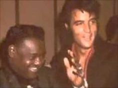 Elvis Presley & Fats Domino - Blueberry Hill // Love Me - YouTube