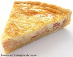 Quiche Lorraine Recipe (Shortcrust Pastry)
