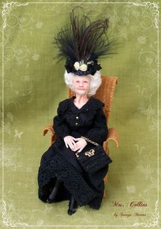 Mrs. Collins, Irish old lady 2013