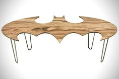 Batman Bat Symbol Coffee Table