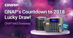 QNAP wünscht Ihnen viel Glück für 2018 und wir bieten Ihnen ein KOSTENLOSES QNAP NAS zu gewinnen. Testen Sie einfach Ihr NAS-Wissen um eines von 10 QNAP NAS zu gewinnen!Jeder Tag bietet eine andere Frage und eine andere Chance zu gewinnen, also markieren Sie in Ihrem Kalender um das neue Jahr mit einem neuen NAS zu feiern!