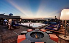 Soda Bar at Nylo Hotel Dallas   America's Coolest Rooftop Bars   Travel + Leisure