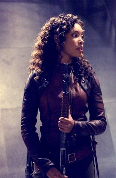 Gina Torres as Zoe in Serenity Firefly Series, Tv Series, Firefly Cosplay, Gina Torres, Warrior Spirit, Firefly Serenity, Joss Whedon, Badass Women, Buffy The Vampire Slayer