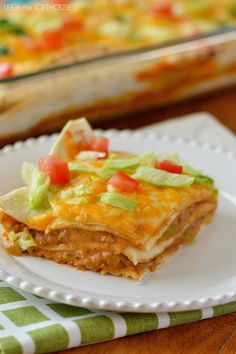 Today I'm sharing this amazing and oh so delish Mexican Tortilla Stack! I have been making this yummy casserole forever. At least since Kale and I were married, and that's almost been 8 years (crazy!  )    This tortilla stack is filled with ground turkey, green chilies, enchilada sauce and loads of cheese,... Read More »