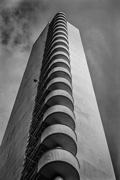 Helsinki Olympic Stadion (Helsinki) by Manuela. Concrete Facade, Concrete Architecture, Modern Architecture, Arch Interior, Interior Concept, Interior Design, Dark City, Brutalist, Modern Buildings