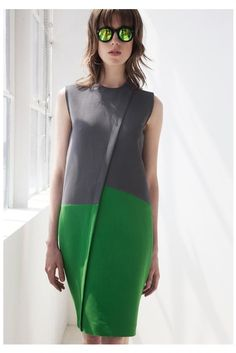 Cédric Charlier Resort 2014 Fashion Show - Sojourner Morrell Style Outfits, Fashion Details, Fashion Design, Fashion Show, Fashion Trends, Style Fashion, Fashion Spring, Trendy Fashion, Fashion Ideas