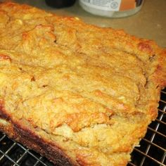 Sugar Free Banana Bread  4 very ripe bananas  1/3 cup coconut oil (considered the most healthy cooking oil there is – we use it for everything and it's great!)  1 egg (optional)  1 tsp vanilla  1 1/2 tsp cinnamon  1/2 cup coconut flour  1 1/2 tsp baking soda  1/4 tsp sea salt
