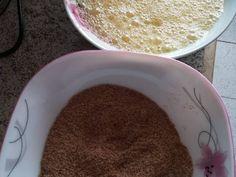 Foto del paso 4 de la receta Pan de Linaza al Horno/Método Grez/ Cetogénica /Keto Keto, Pudding, Tableware, Desserts, Food, Mary, Flaxseed Muffins, Easy Recipes, Healthy Meal Prep
