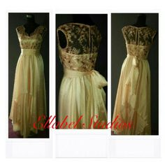 A dress I made for my cousin... #laceandchiffon#bridesmaids#naijafashion#ankara#weddings#bridaltrain#beautifuldresses#breezydresses#bellanaija#ellabelfashion