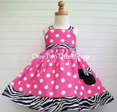 Rhys, birthday dress!! :)   Custom Boutique Minnie Mouse Jumper  Dress 12 Months to by amacim, $39.99