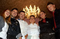 Best New Restaurant San Gimignano San Martino 26 The Staff at the opening of the Tuscan Fine-Dining Ristorante