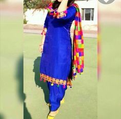 #DesignerSalwarSuitOnline #BuySalwarSuitSale #LatesSalwarSuitOnline #StylishSalwarSuitSale Maharani Designer Boutique To buy it click on this link : http://maharanidesigner.com/… Fabric - Glace cotton ...Rs.4500 Dupatta - Heavy Fulkari .Available in all colours ... Sab Kuch Bikta Hai Online's photo.