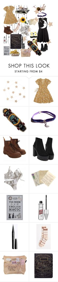 """Of my heart and my mind"" by phonetheskeleton ❤ liked on Polyvore featuring Killstar, Dr. Martens, La Perla, CO and Madewell"