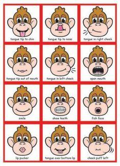 MagneTalk Oral-Motor Exercises.: #burnfat Oral Motor Activities, Articulation Activities, Preschool Learning Activities, Language Activities, Teaching Kids, Speech Language Therapy, Speech Therapy Activities, Speech And Language, Play Therapy Techniques