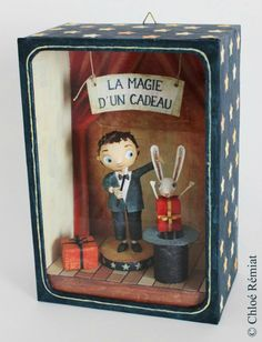 """La magie d'un cadeau"" - Photo de BOITES ET CADRES DISPONIBLES * Available boxes and frames - Tibout de blog"
