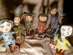 dolls....