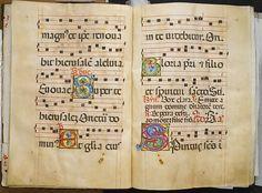 Belbello da Pavia (Italian, active ca. 1420–70) and collaborators. Benedictine Antiphonary, ca. 1467-1470. The Metropolitan Museum of Art, New York. Gift of Robert Lehman, 1960 (60.165)