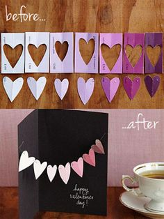 Valentine's Day craft: How to turn free paint swatches into a Valentine popup card