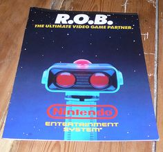 Nintendo R.O.B. instruction manual - http://www.tutorfrog.com/nintendo-r-o-b-instruction-manual/  #Toys #cooltoys