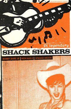 The Legendary Shack Shakers - Bobby Bare Jr