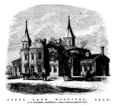 Gipps Land Hospital, Sale 1867