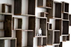 Shadow box wall installation