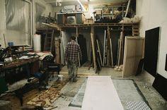 clemens wolfs studio in Wien