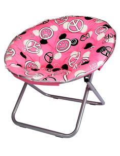 Girls Clothing | Chairs | Polka Dot Saucer Chair | Shop Justice