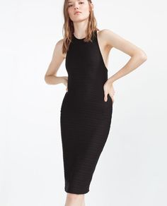 ZARA - PROMOTIONS - DRESS WITH STRAPPY BACK