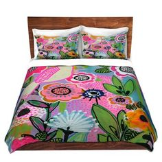 East Urban Home Beauty Bird Duvet Cover Set Size: 1 Twin Duvet Cover + 1 Standard Sham Luxury Bedding Collections, Ruffle Bedding, Contemporary Sofa, Urban, Minimalist Bedroom, Comforter Sets, Duvet Cover Sets, Decorative Pillows, Bed Pillows