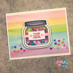 Mason Jar Shaker Card