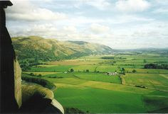 View from the top of Wallace Monument, Stirling, Scotland. Can't wait for our trip!